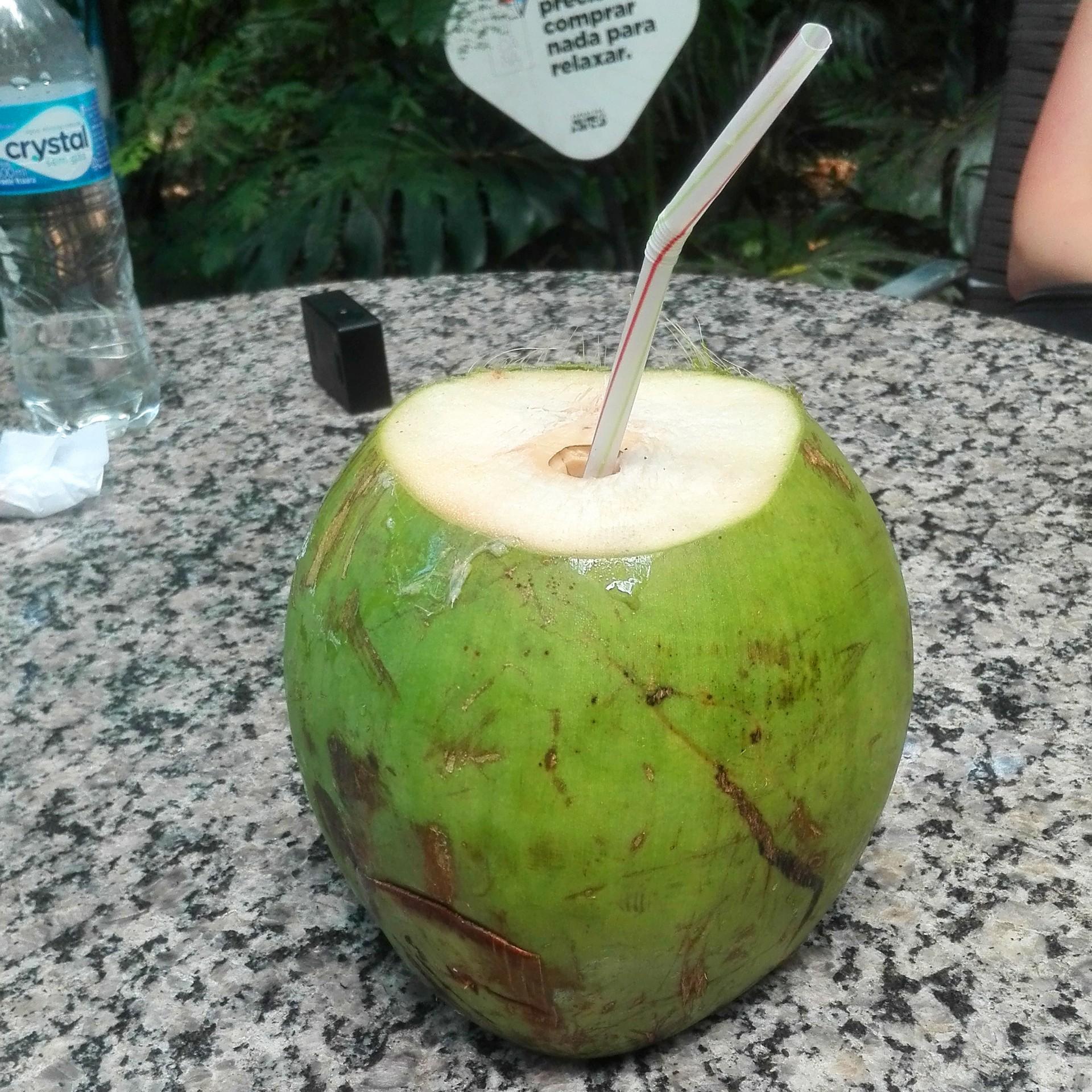 relaks przy kokosie