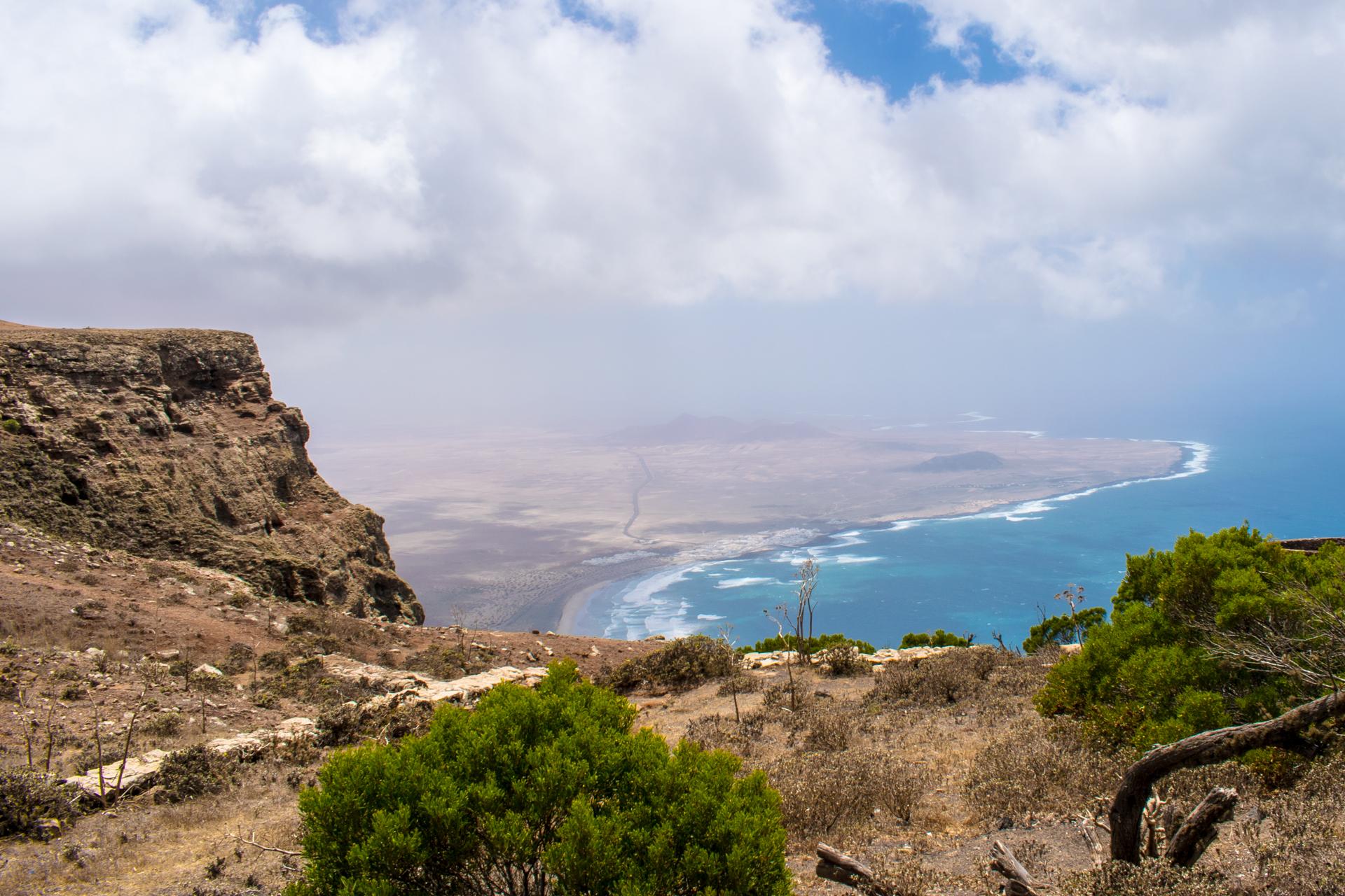 Widok na resztę wyspy