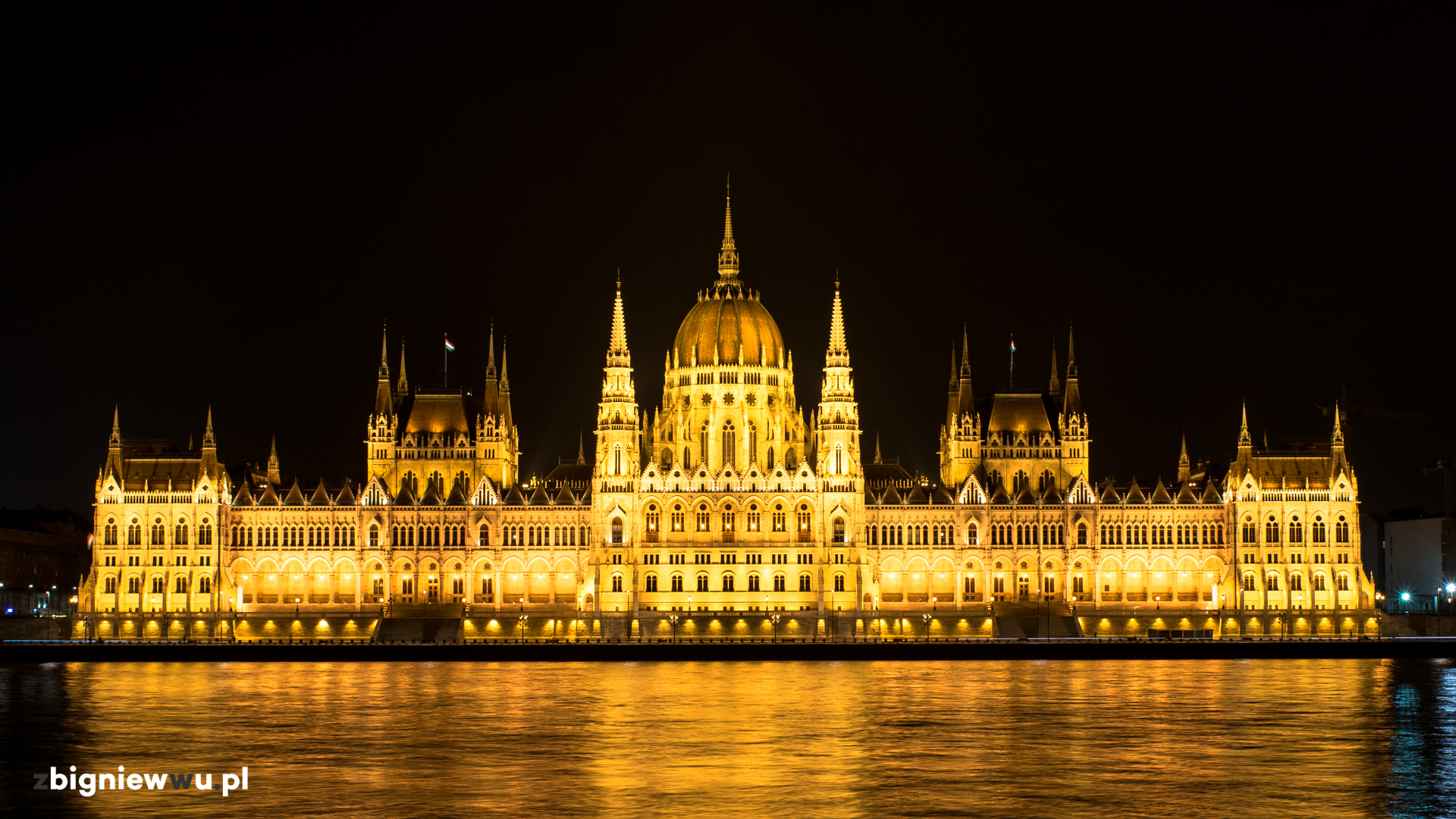 Budynek Parlamentu w Budapeszcie