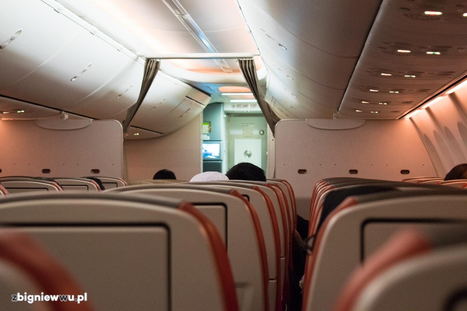 Jeden z lotów w Azji liniami Air Asia