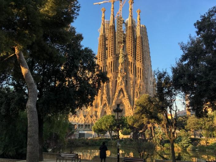 Świątynia Sagrada Familia w Barcelonie