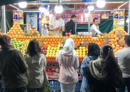 Nocny bazar w Marrakeszu