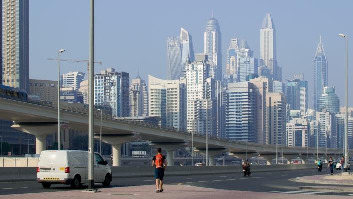 Okolice Dubai Marina