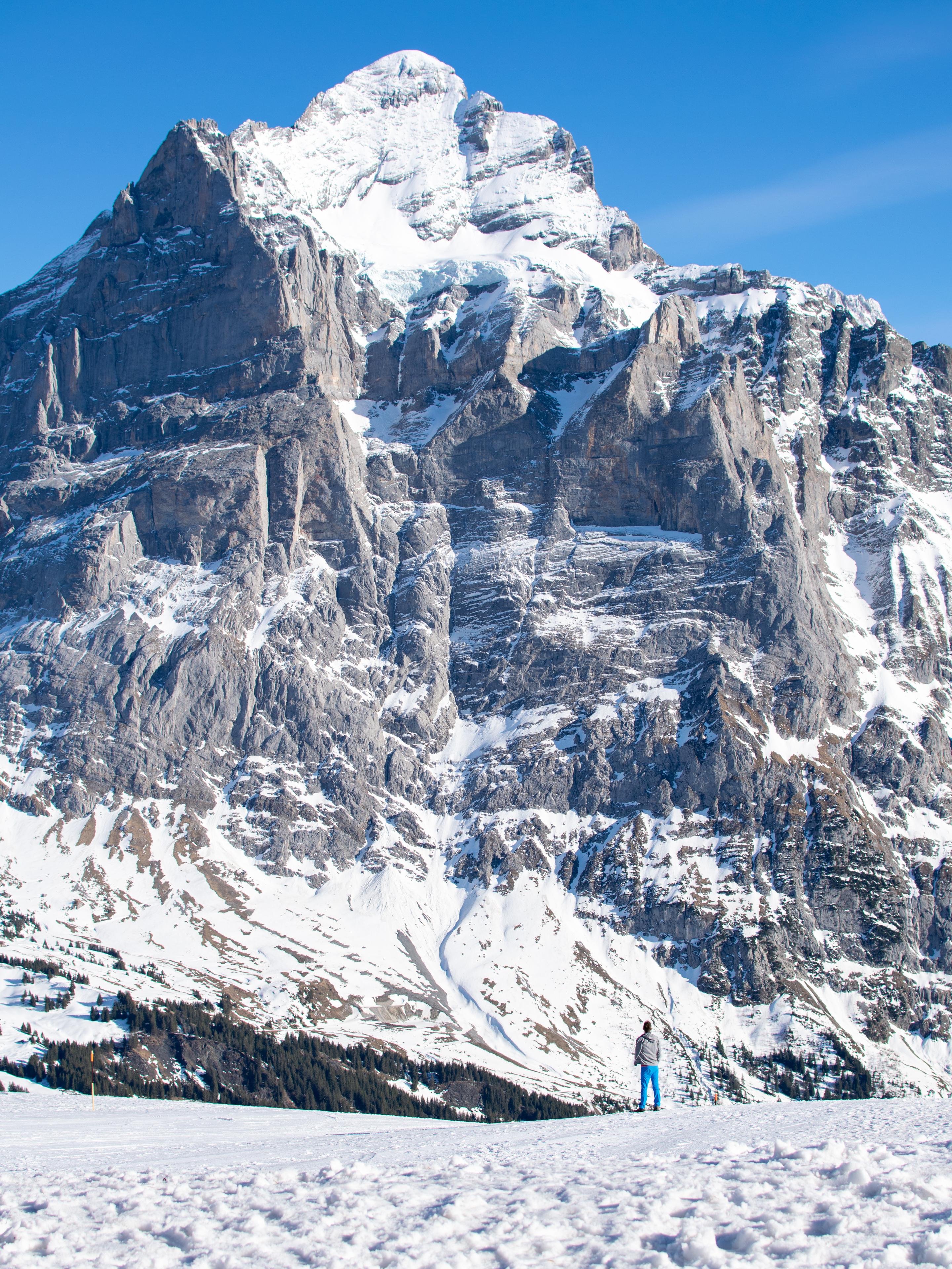 Grindelwald położony jest pod imponującym Wetterhornem